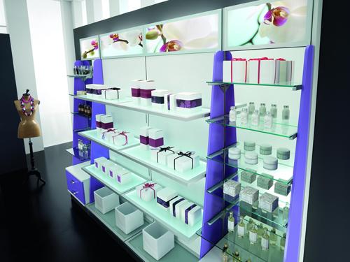 Arredamento per negozi di profumeria a roma e in tutto il for Arredamento profumeria