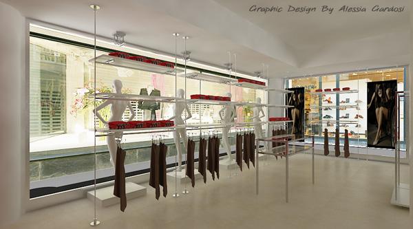 arredamento negozi- arredamenti mazzola group s.r.l. arredo negozi ... - Arredamento Negozio Abbigliamento Moderno