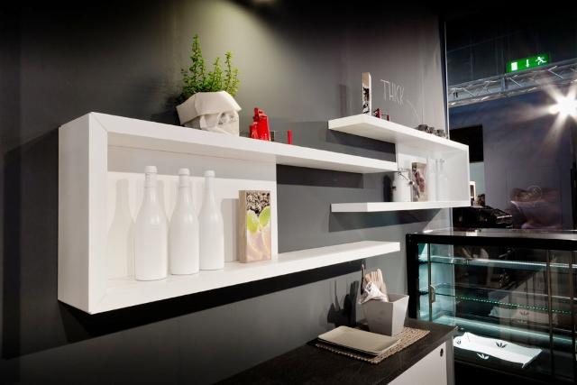 Arredamenti per negozi a roma e nel lazio realizzati per i for Arredamento paninoteca